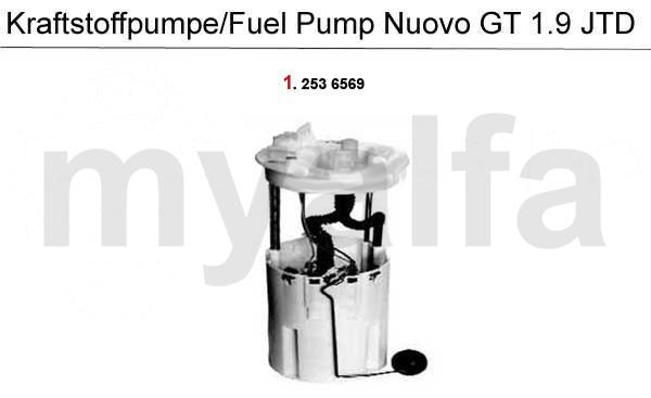 Brændstofpumpe