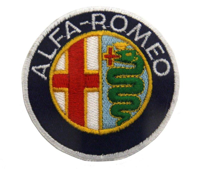 Alfa Romeo Patch  U0026quot Alfa Romeo U0026quot  Emblem