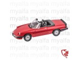 ALFA ROMEO SPIDER 1983-86 RED 1:18, LIMITED EDITION