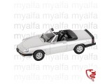ALFA ROMEO SPIDER 1986-89     SILVER 1:18, LIMITED EDITION