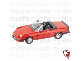ALFA ROMEO SPIDER 1986-89     RED 1:18, LIMITED EDITION