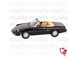 ALFA ROMEO SPIDER 1990-93     BLACK 1:18, LIMITED EDITION