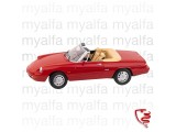 ALFA ROMEO SPIDER 1990-93     RED 1:18, LIMITED EDITION