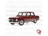 ALFA ROMEO GIULIA 1300 1966   DARK RED 1:18 MINICHAMPS -    LIMITED EDITION 504pc.