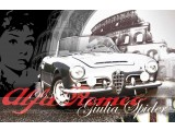 Poster Giulia Spider 83x60 cm