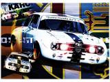 Poster Bertone GTAm 70x100 cm