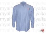 """skjorte """"Creation Sportivo"""", blå , langærmet"""