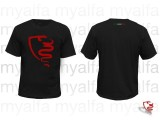 T-Shirt sort, Logo myalfa